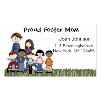 foster parent business cards