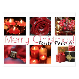 foster parents Merry Christmas card