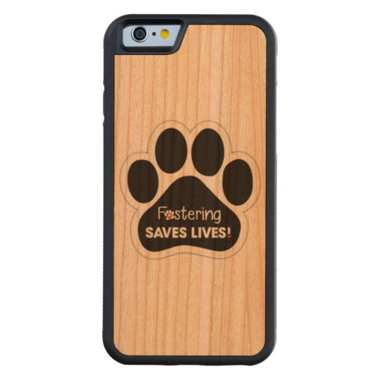 Fostering Saves Lives Cherry iPhone 6 Bumper Case