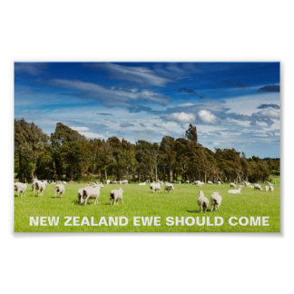 FOTC New Zealand Ewe Should Come Poster