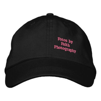 Fotos by Faith Photography Hat Embroidered Baseball Caps