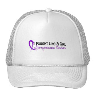 Fought Like A Girl Leiomyosarcoma 6S Trucker Hats