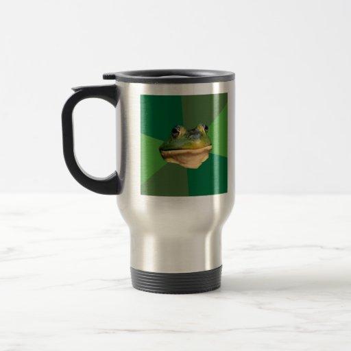 Foul Bachelor Frog Advice Animal Meme Coffee Mugs