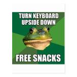 Foul Bachelor Frog Free Snscks