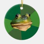 Foul Bachelor Frog Ornaments