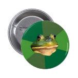 Foul Bachelor Frog Pin