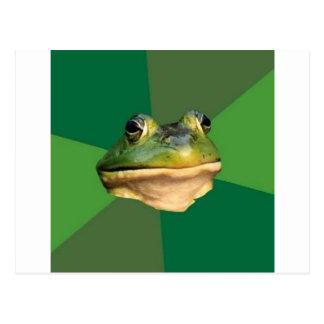 Foul Bachelor Frog Postcard