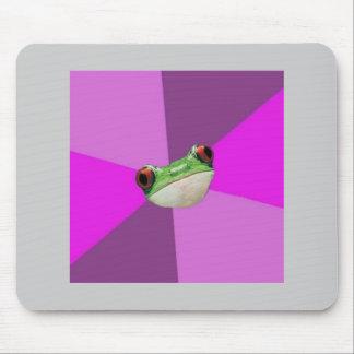 Foul Bachelorette Frog Advice Animal Meme Mouse Pad