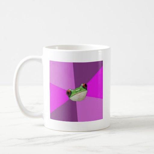 Foul Bachelorette Frog Advice Animal Meme Mug