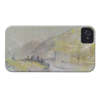 Foul by God: River Landscape with Anglers Fishing iPhone 4 Case-Mate Case