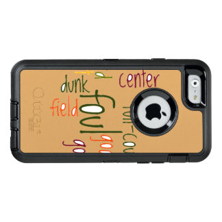 Foul Dunk OtterBox Defender iPhone 6/6s Case