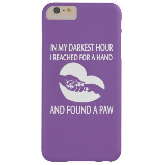 FOUND A PAW BARELY THERE iPhone 6 PLUS CASE