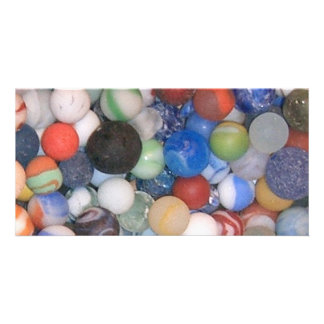 Found at the Beach Marbles Photo Cards