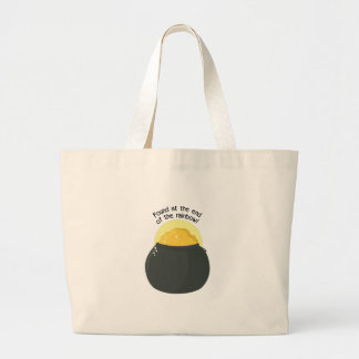 Found At The End Of The Rainbow! Canvas Bags
