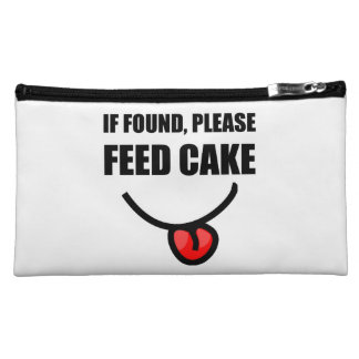 Found Feed Cake Makeup Bags
