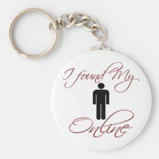 Found Girlfriend/Boyfriend ONLINE Key Chain