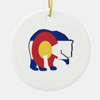 FOUND IN COLORADO CHRISTMAS ORNAMENT