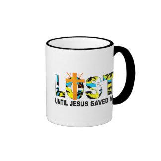 Found Jesus Ringer Coffee Mug