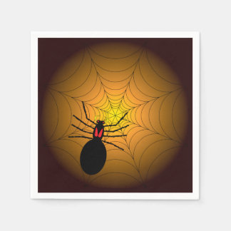 Found Me A Spider Halloween Party Paper Napkins Disposable Napkin