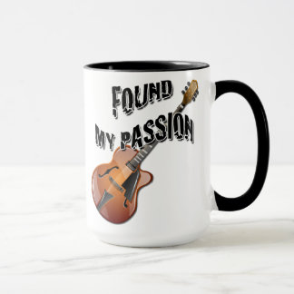 Found My Passion - Archtop Guitar Mug