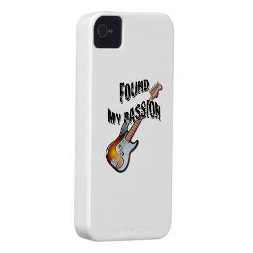 Found My Passion - Electric Guitar iPhone 4 Case