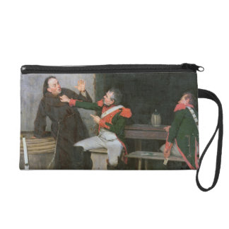 Found Out (oil on canvas) (one of pair - See 19572 Wristlet Clutches