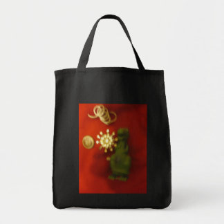 found canvas bag