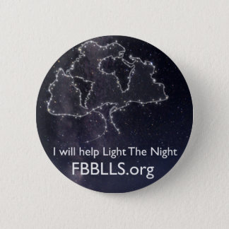 Foundation Beyond Belief Light The Night sky 6 Cm Round Badge