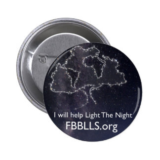Foundation Beyond Belief Light The Night sky 6 Cm Round Badge
