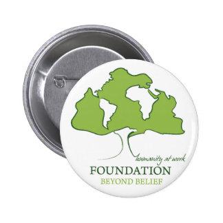Foundation Beyond Belief logo 6 Cm Round Badge