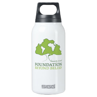 Foundation Beyond Belief logo Insulated Water Bottle