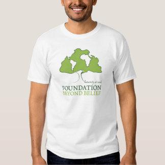 Foundation Beyond Belief logo T Shirt
