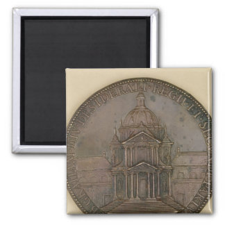 Foundation medal of Val-de-Grace Square Magnet
