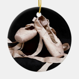 Foundation of Grace Ballet Shoes Holiday Ornament