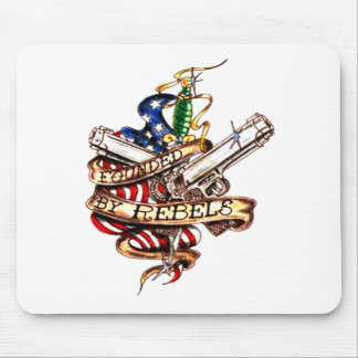 founded by rebels mouse pad