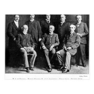 Founders of the Republic of Panama Postcard