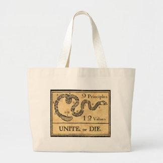 founding fathers jumbo tote bag