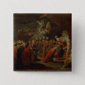 Founding of the Order of the Black Eagle 15 Cm Square Badge