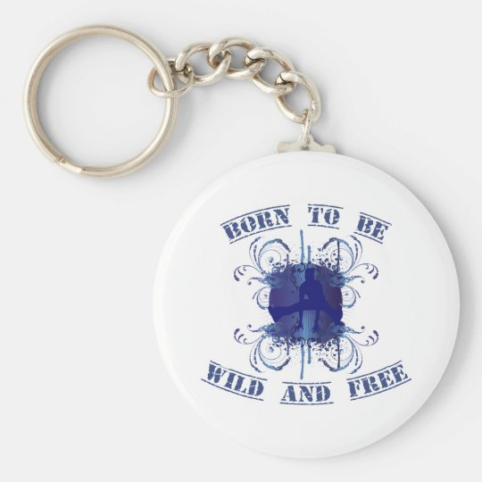 fount ton of BE wildly and free Basic Round Button Key Ring