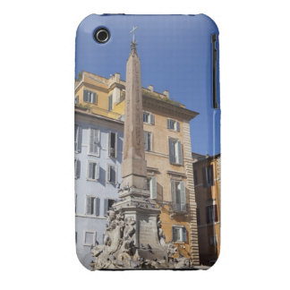 fountain and Egyptian obilisk at the centre of iPhone 3 Covers