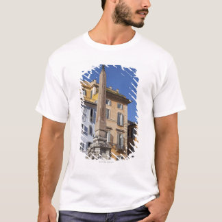 fountain and Egyptian obilisk at the centre of T-Shirt