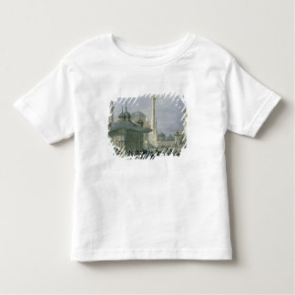 Fountain and Square of St. Sophia, Istanbul, engra Toddler T-Shirt