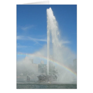 Fountain at the Point Card