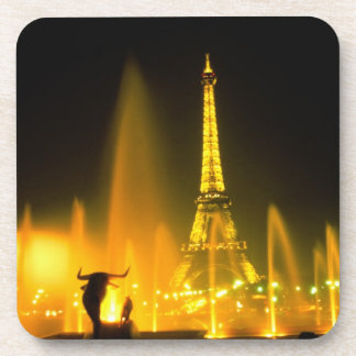 Fountain at the world famous Eiffel Tower Paris Coaster