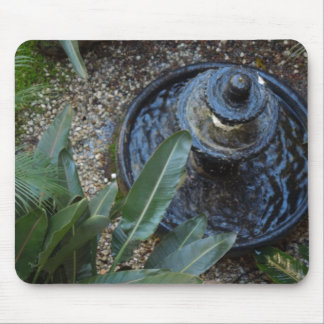 Fountain in Garden Mouse Pads