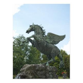 Fountain in Mirabell Gardens in Salzburg Postcard