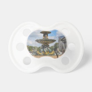 Fountain in Place de Concorde in Paris, France Pacifier