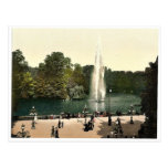 Fountain in the Kurpark, Wiesbaden, Hesse-Nassau, Post Cards