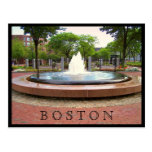 Fountain in the North End Postcard