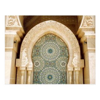 fountain mosque postcard